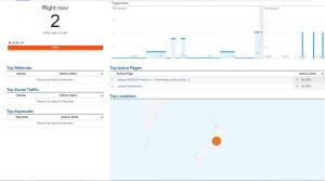 ניתור השפעת פעולות הלבלובים בזמן אמת באמצעות Google Analytics
