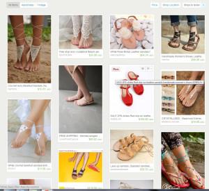Women--sandlas