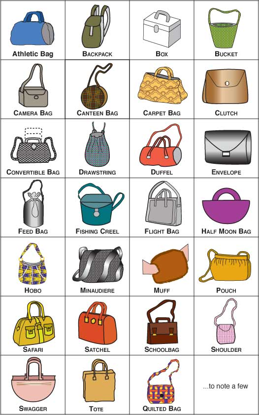Purse Style Diagrams